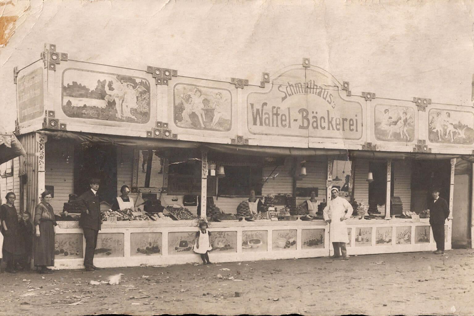 Schmalhaus Eis historisch